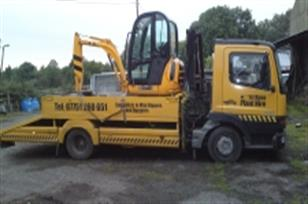 Plant hire in Wigan